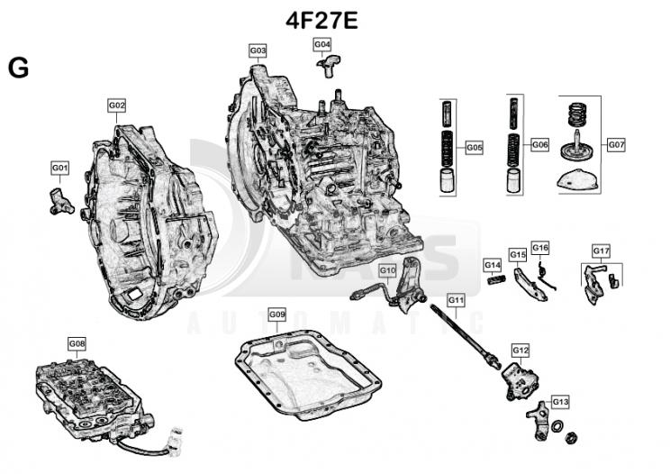 4f27e ремонт акпп своими руками 518